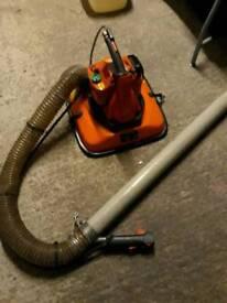 Husqvarna petrol small wheelie bin vacuum