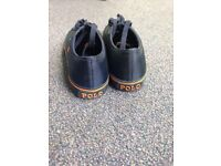 Size 8 POLO RALPH LAUREN LOW TRAINERS