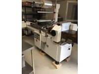 Flow wrap packaging machine bakery catering equipment