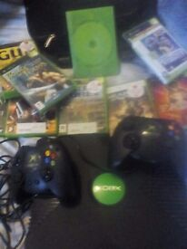 Xbox with 20 games