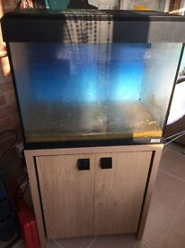 fluval roma 90 ltr, with cabinet