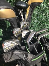 Cobra Golf clubs with bag