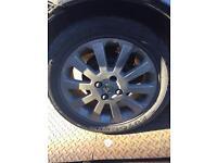 Vauxhall Astra tyres alloys complete set mark 4