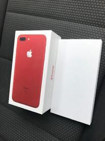 Apple iPhone 7 Plus 128gb unlocked red brand new