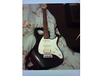 Make an offer - Electric guitar & amp - peavey raptor - brand new - wiith case, leads & new strings