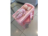 Baby Annabelle changing table