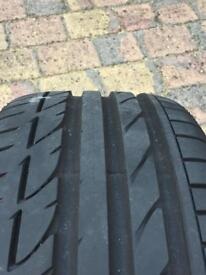 Tyre as new 225/45/R17