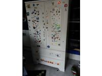 Children's John Lewis wardrobe for sale. £25.00