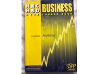HNC/HND BTEC Business Course book - Marketing unit
