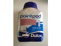 Dulux MATT Paintpod Emulsion Paint (Walls & Ceilings) 5L Raspberry Diva £5 each 13 Available