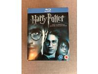 Harry Potter Blue-ray COMPLETE set