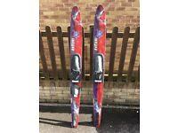 Water Skis and Dounut