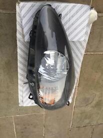 Fiat grande punto original valeo sporting passenger side head lamp