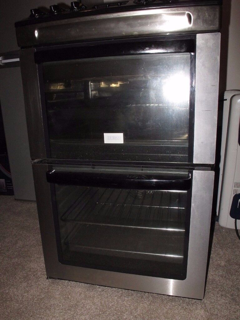 ZANUSSI DOUBLE OVEN SLIMLINE COOKER - 55cm WIDTH - MINT CONDITION - JUST REDUCED!!