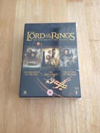 New.. Lord of the Rings dvd boxset