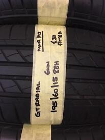195/60/15 88H GT Radial Tyre