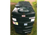Titan Oil Tank. Double skinned 1225 Litre, good condition.