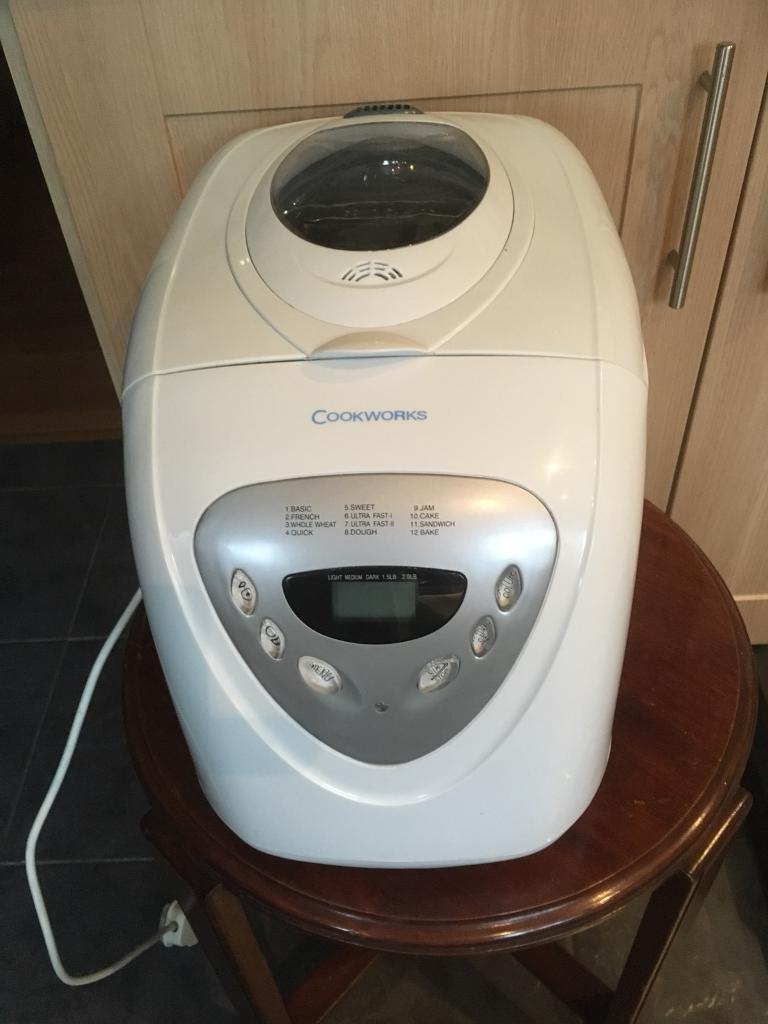 COOKWORKS LARGE CAPACITY BREAD MAKER