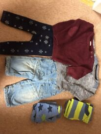 9-12 months small boys bundle, mostly Next, 8 items