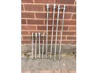 Fishing telescopic Bank sticks