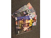 10 miscellaneous magazines