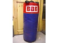 *** BBE Punch Bag ***