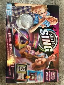 Spin to sing game unopened new