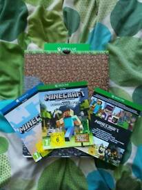 Minecraft game with packs and xbox live