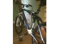 Men's CUBE mountain bike