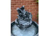 Water feature concrete