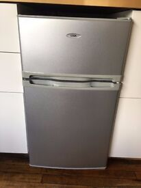 Small Silver Compact Fridge/Freezer Perfect Condition Full Working Order