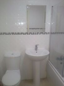 Marina flat furnished, 2 bed, 2 bathroom, rent couple/ family- ground floor, St Catherine's court