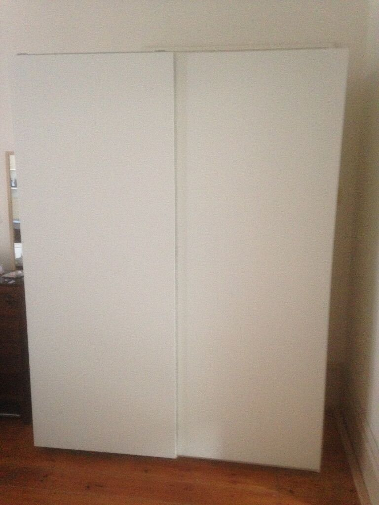 pax wardrobe white hasvik white in hampstead london gumtree. Black Bedroom Furniture Sets. Home Design Ideas