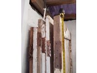 Six reclaimed doors - free for pickup