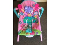 Fisher price infant to toddler rocker -rarely used available for collection only