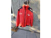 Vintage Ferrari zipped bomber jacket