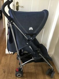 Maclaren Quest stroller in Denim , suitable from birth