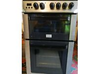 Zanussi 50cm Double Oven with Grill, Ceramic Hob, Model number ZCV563DX