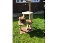 Cat play platform