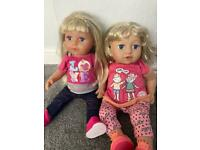 Baby doll bundle - baby born sister baby annabel sister