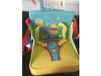 Travel highchair/portable booster seat NEW