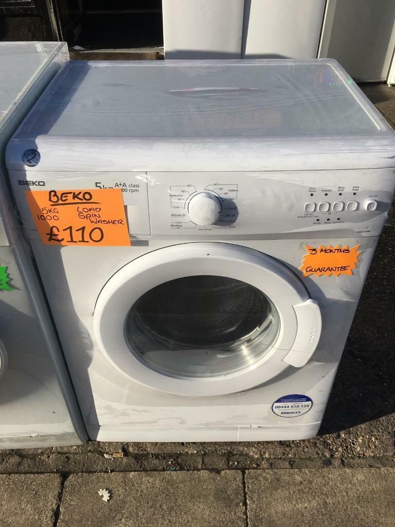 BEKO 5KG BASIC USE WASHING MACHINE