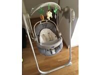 Chicco remote control baby swing