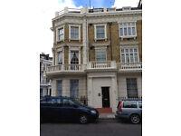 South facing sunny ground floor double studio, Pimlico, nr Victoria SW1
