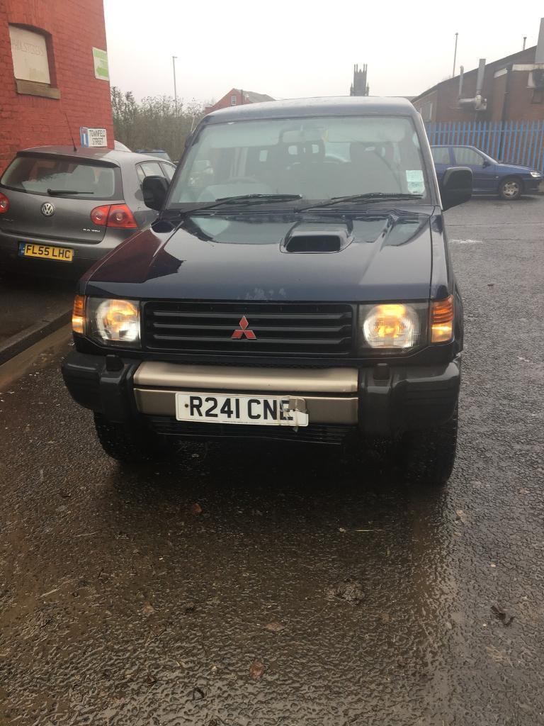 Mitsubishi Pajero 1998 2 8 diesel turbo blue spares breaking EC 4m40t  manual | in Oldham, Manchester | Gumtree