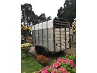Ifor Williams Livestock Tailer