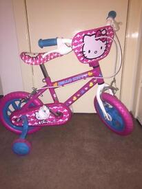 Hello kitty bike ages 2-5