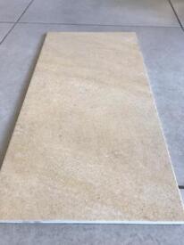 60x30cm beige Italian porcelain floor tiles