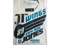 Jack Jones White t-shirt BNWT XXL