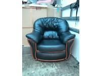Black Leather Chair Free Delivery
